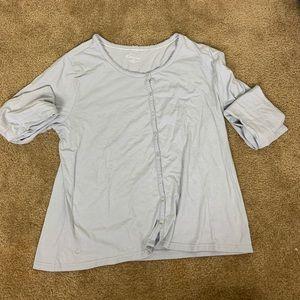 Grey pj shirt